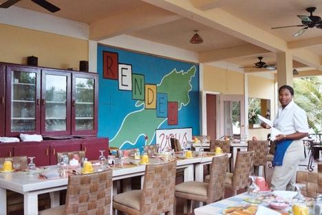 Antigua karib-szigeti étterem