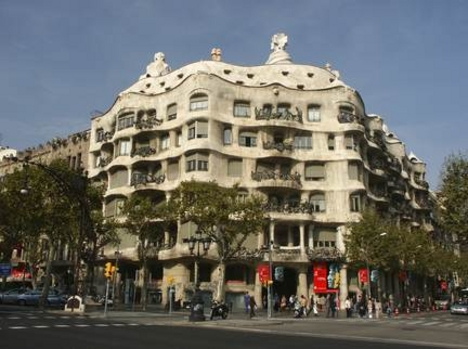 Barcelona - Gaudi ház
