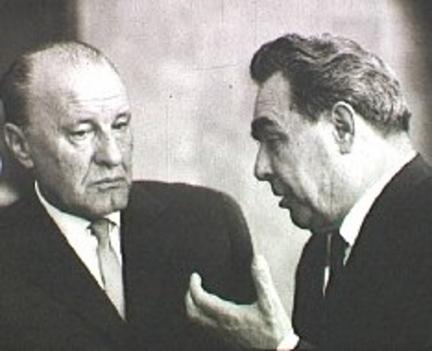 Kádár és Brezsnyev