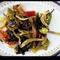 sült zöldség- thai étel