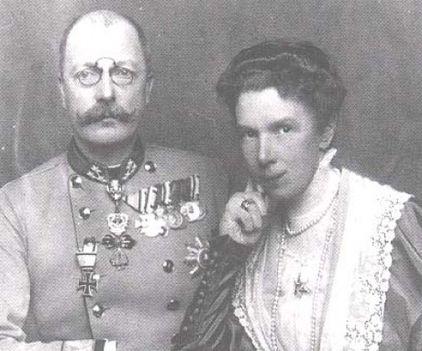Maria Valeria é s Franz Salvator 1918