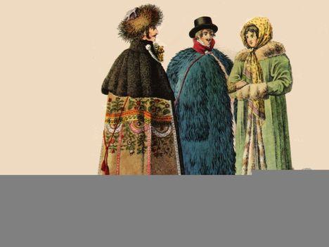 18.-19. századi magyar viseletek 18