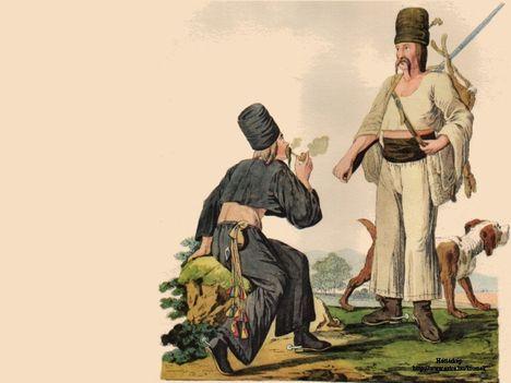 18.-19. századi magyar viseletek 19