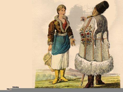 18.-19. századi magyar viseletek 20