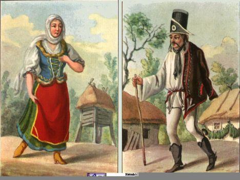 18.-19. századi magyar viseletek 22
