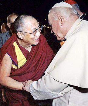 II. János Pál pápával