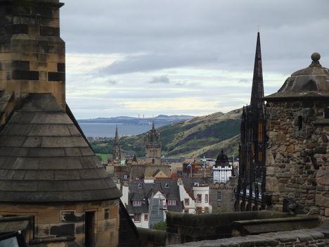Edinburghi panoráma