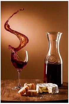 """""""füstölő"""" pohár bor"""