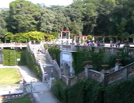 Miramare, kastély ahol Sissi sokat nyaralt. Videóból vágva. 3