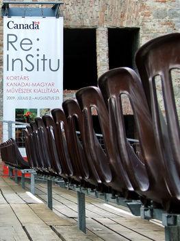 Kanadai - magyar művészek kiállítása Szentendre 2009 Plakát 1