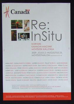 Kanadai - magyar művészek kiállítása Szentendre 2009 Plakát 2