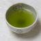 Zöld tea csészében