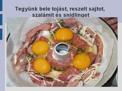Csirkés kuglóf,