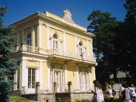 a Teleki kastély Nagykovácsin