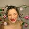 karácsonyfa frizura