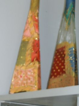 pachtwork-minta üvegen
