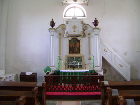 Az evangélikus templom belső tere 2
