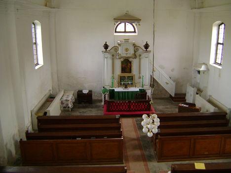 Az evangélikus templom belső tere 3