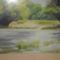 Maglóca környéki táj:  Kinczer József festménye