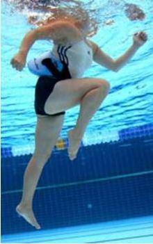 Futás a víz alatt