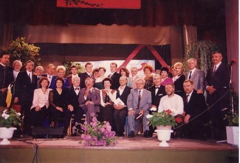 Fellépők csoportképe