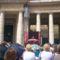 Róma 4 A pápa beszél a kivetítőn