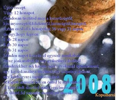 újévi recept