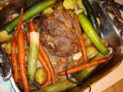 zöldséges bárány