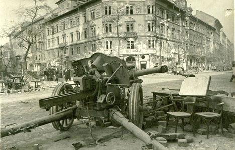 1945 - Budapesti látkép