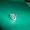Gyűrű 001 háromszögekkel