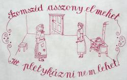 konyhai falvédő