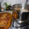 pulykahús leves és rántott karaj