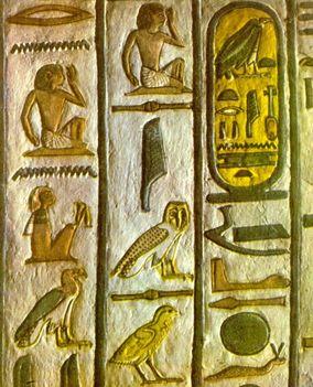 egyiptomi írás