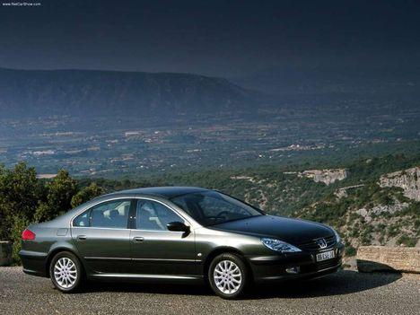 Peugeot 607 leírás