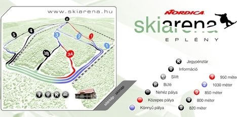 sípálya térkép