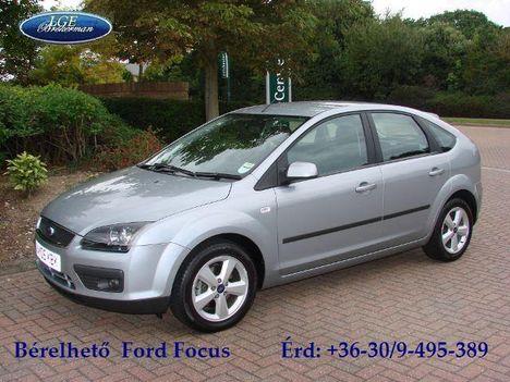 Ford Focus 1,6 i - 1,6 TDCi