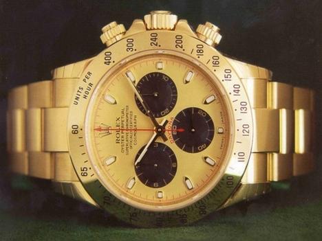 arany Rolex óra