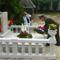 Az öt orosz katona felújított síremlékének átadása és megszentelése
