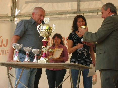 Szüreti Falunap - Lövészverseny díjátadás