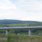 A Völgy-híd a szemesi szőlőhegyről