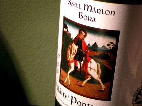 Szent Márton bora