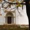 Bakonyszentlászló templom-részlet