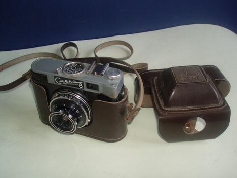 Fényképezőgép 1979-ből ( a pajtás  gép  után  következtek  a  Cmena  gépek )
