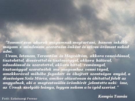 Kempis Tamás - idézet (01)