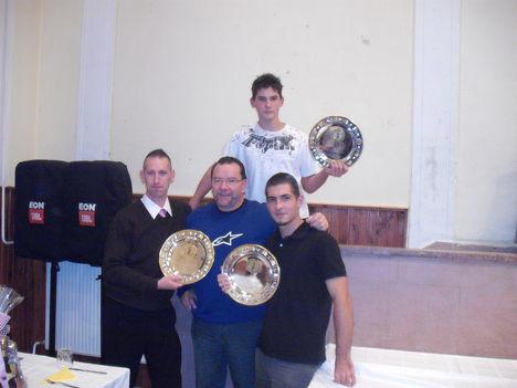 A 3 aranyérmes. 2 soproni,és 1 nagycenki  arany!!!!