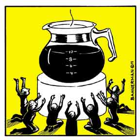 Kávéistenünk