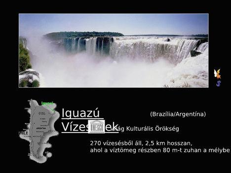 Iguazú vízesés 1