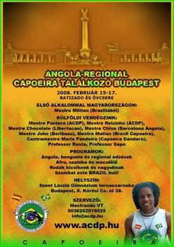 Angola Regional találkozó 2008 febr