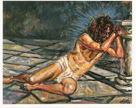 Jézus  szenvedése.