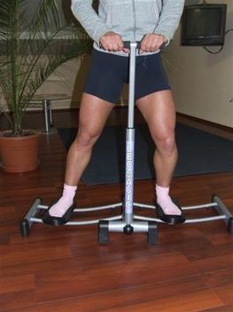 Kiegészítő gyakorlatsor, jobb láb